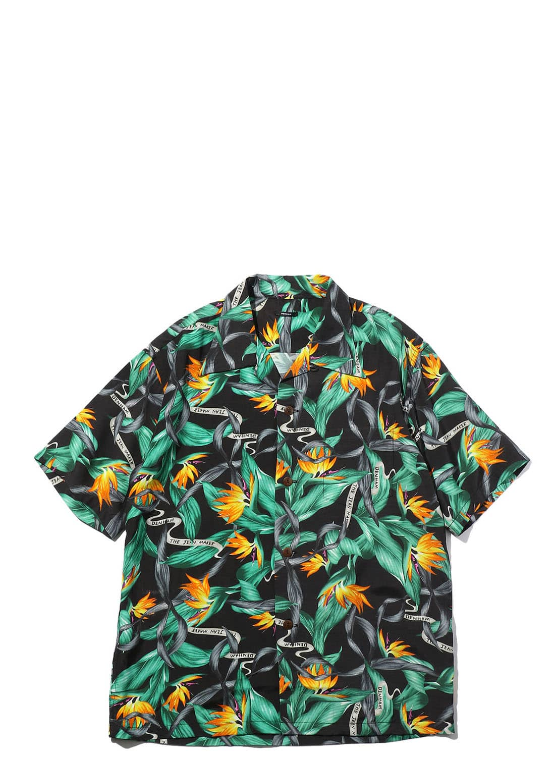 【日本限定】 DENHAM ALOHA SHIRT AS