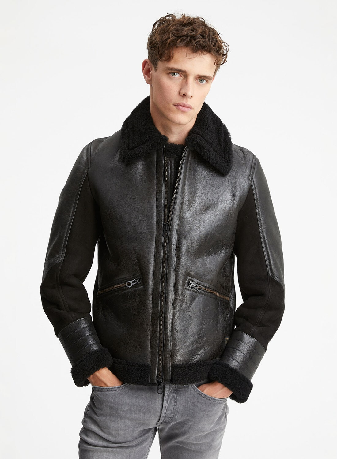 ALLOWAY LEATHER JKT