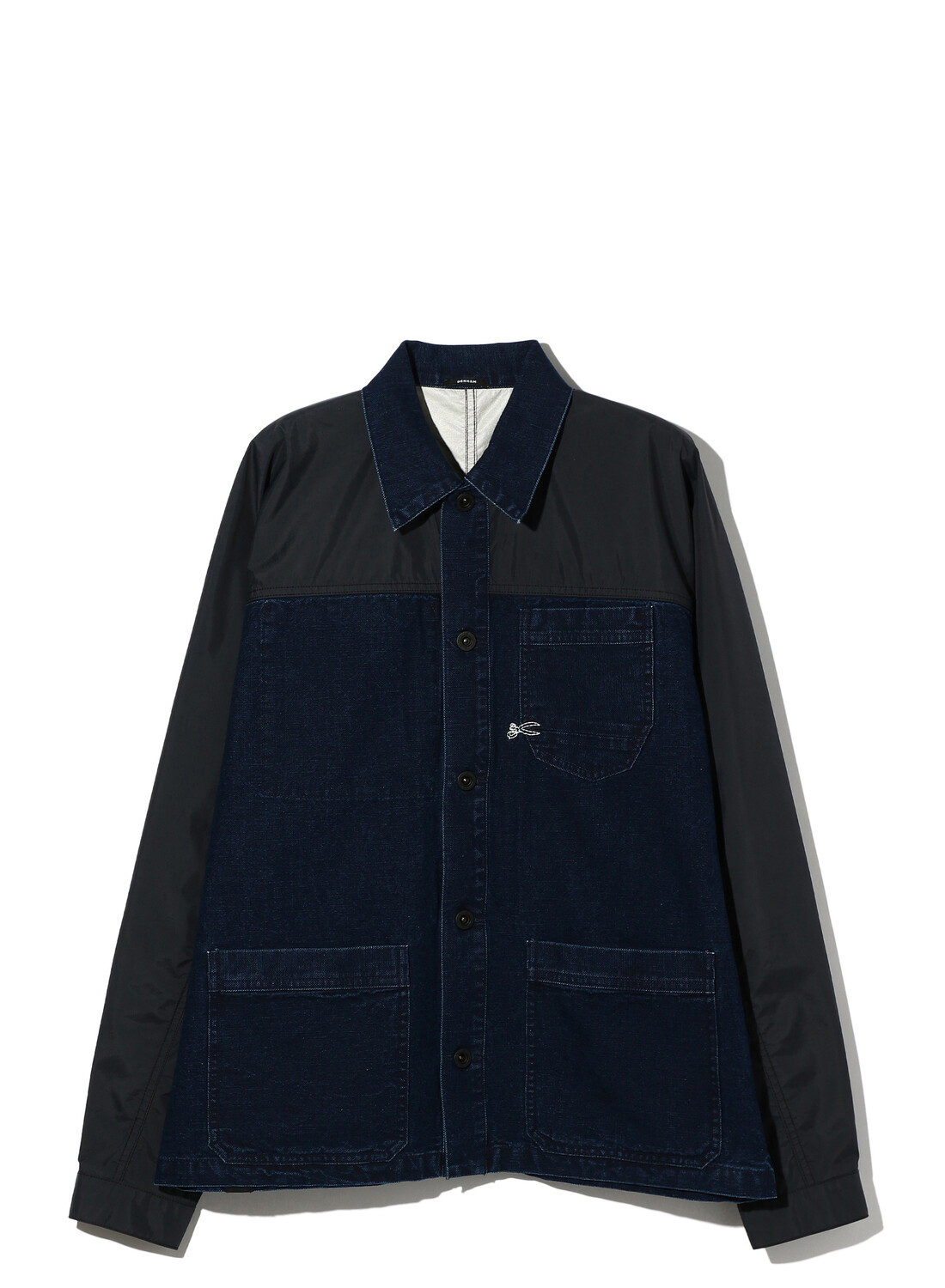 TWO TONE COVERALL