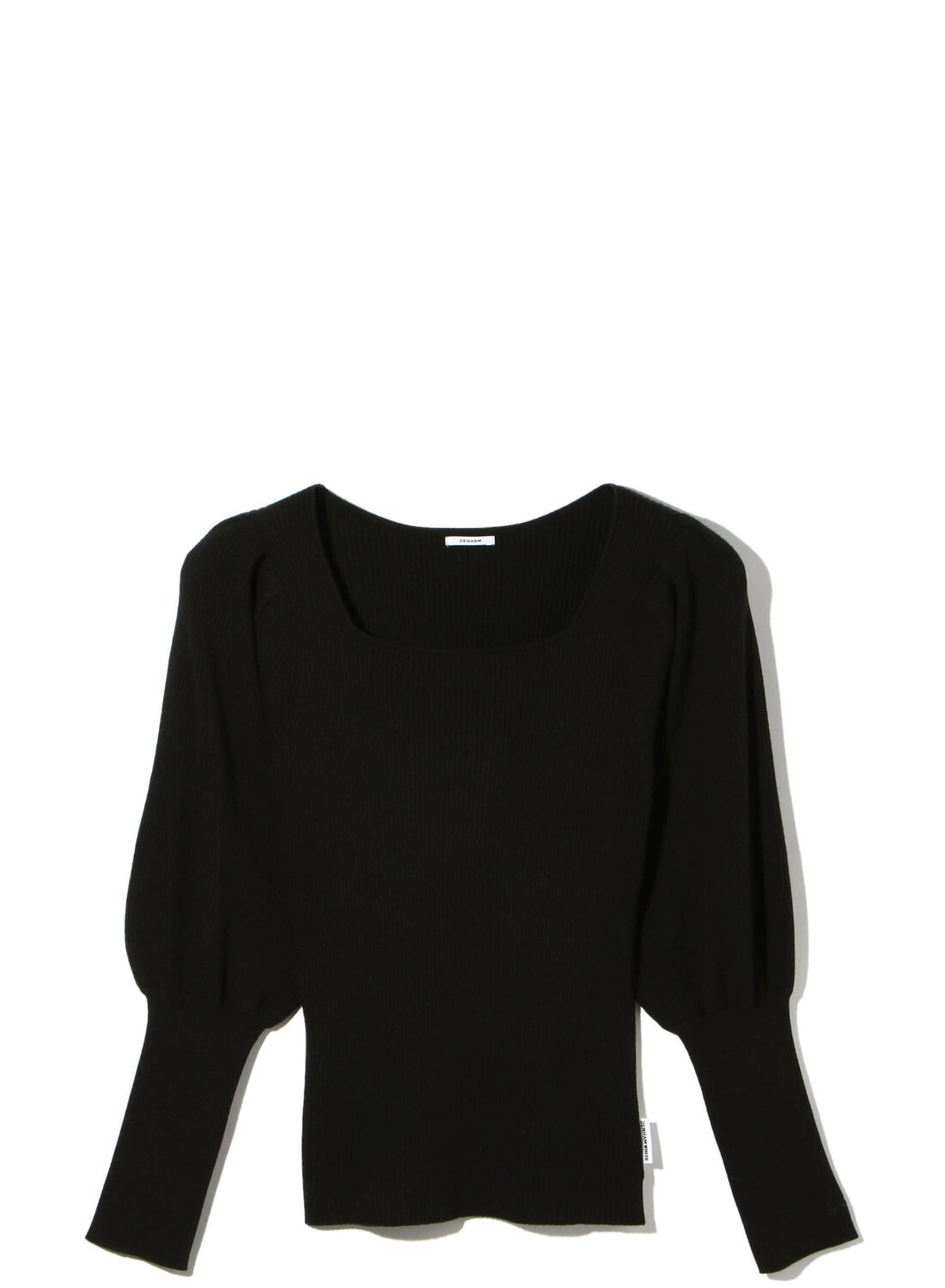 SQUARE NECK KNIT TOPS