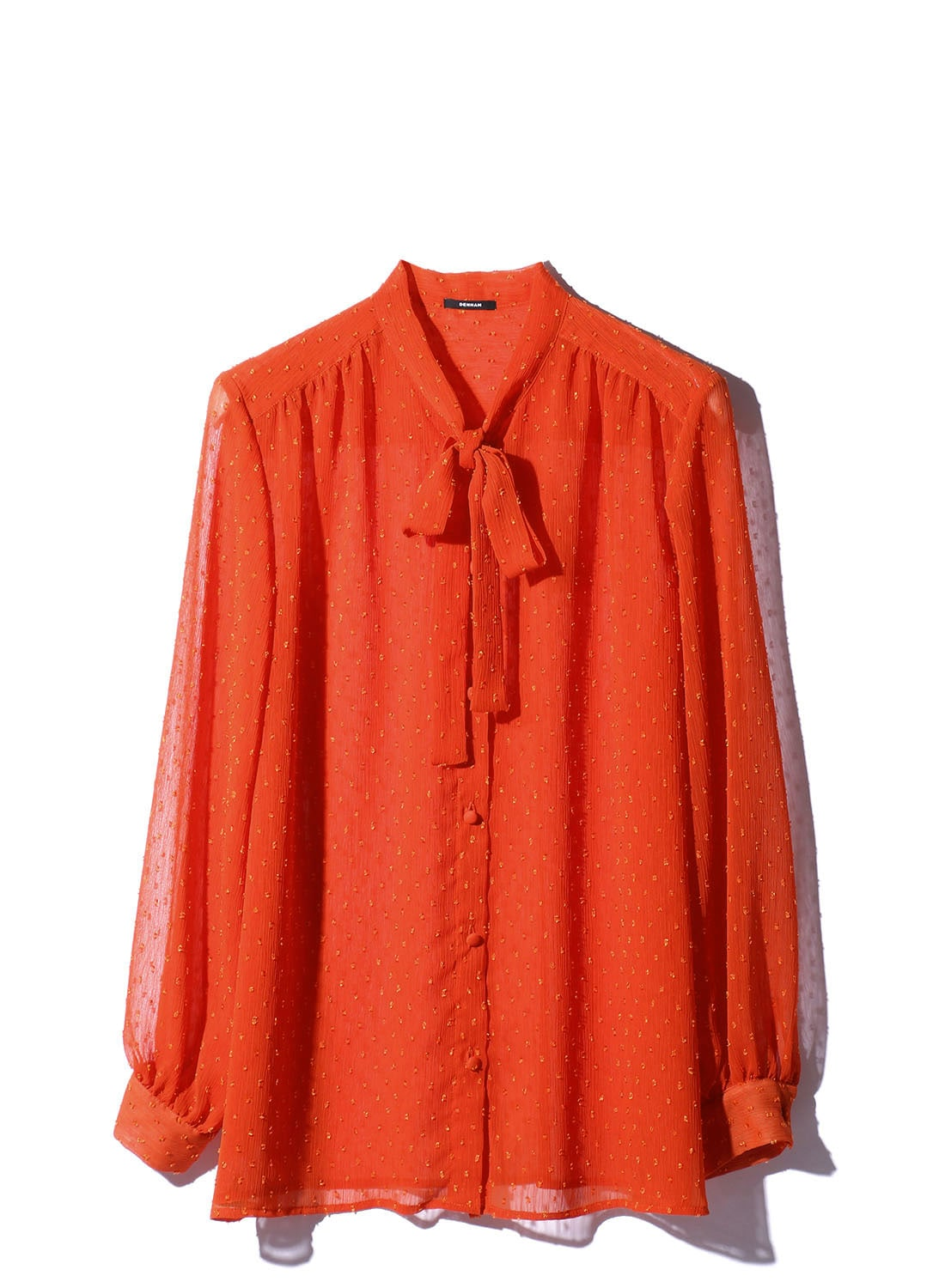 【日本限定】 DOT DRAPE BLOUSE