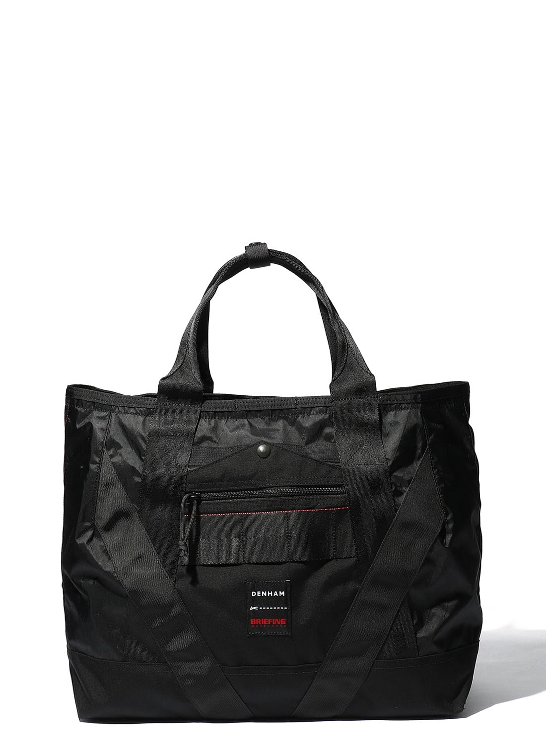 【DENHAM X BRIEFING】 NYLON COMBI TOTE