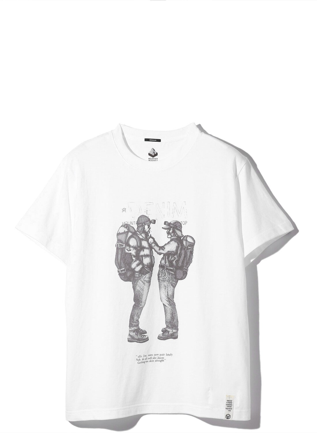 【DENHAM × MOUTAIN RESEARCH】TWO MOUNTAINEERS TEE