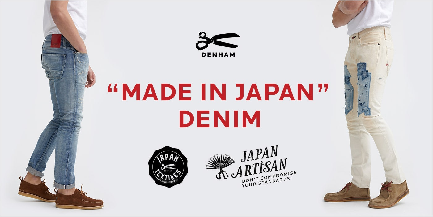 "DENHAM ""MADE IN JAPAN DENIM"" NEW COLLECTION"